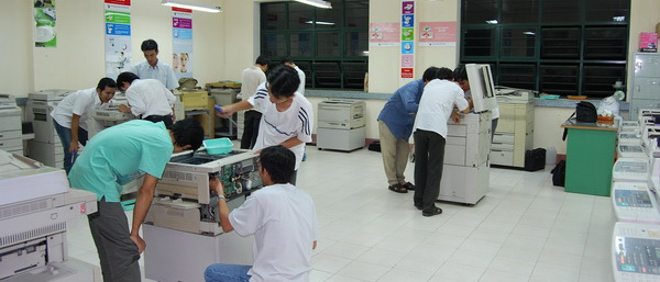 Hướng dẫn bảo trì máy photocopy
