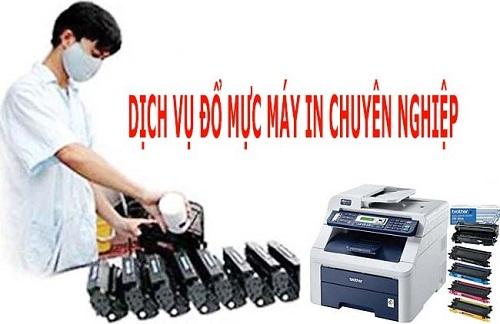 Dịch vụ đổ mực máy in tại quận Gò Vấp vừa tốt, vừa rẻ