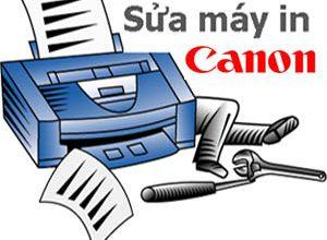 sửa máy in canon