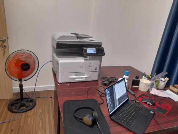 Máy photo ricoh 301SPF để bàn